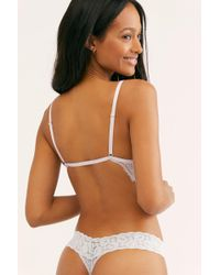 Free People - Must Have Printed Thong By Only Hearts - Lyst