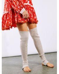 Free People Ballerina Stir Up Leg Wrap - Multicolor