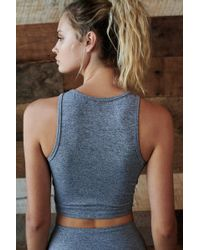 Free People - Cut Out Bra - Lyst