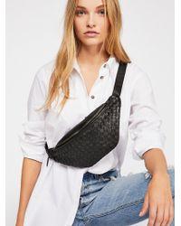 Free People - Woven Crossbody Belt Bag By Cut N Paste - Lyst