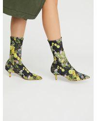 Free People - Cadence Kitten Heel Boot - Lyst