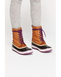 Free People 1964 Canvas Weather Boot - Multicolour