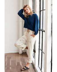 Free People Fave Bae Pants By Fp Movement - Multicolor