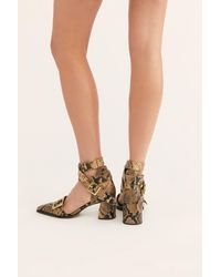 Free People Top Down Heels By Fp Collection - Multicolor
