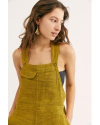 040dd5ae09 Free People - Happiest When Sandy Coveralls By Endless Summer - Lyst