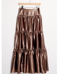 Free People - Moonbeam Tiered Skirt - Lyst