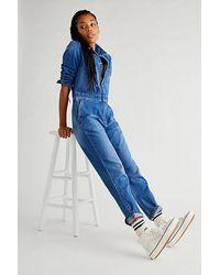 Lee Jeans Union Boilersuit - Blue