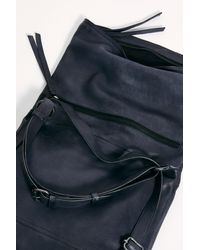 Free People Avery Leather Backpack By Fp Collection - Black