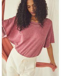 Free People Cozy Cool Girl Bodysuit - Pink