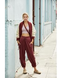 Free People Goldie Pant By Fp Movement - Red
