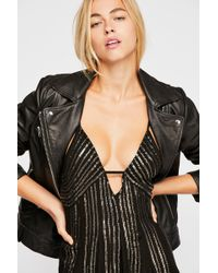 Free People - Here She Is Embellished Slip By Intimately - Chemise - Lyst