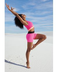 Free People Prajna Short By Fp Movement - Pink