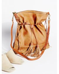 Free People - Gramercy Washed Hobo - Lyst
