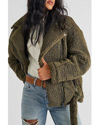 Free People So Cosy Slouchy Moto - Multicolour