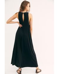 Free People Easy Livin One Piece - Black