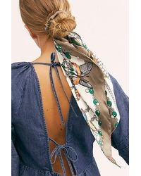 Free People Dreamiest Scarf Pony - Multicolour