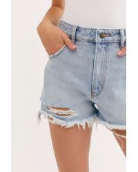 Free People Dusters Cut Off Shorts By Rolla's - Multicolour