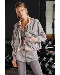 Free People Opal Jacket By Fp Movement - Multicolour
