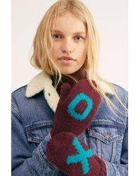 Free People Love Is Love Mitten - Red