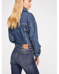 Free People - Lee High-rise Skinny Jeans - Lyst