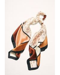 Free People Wild Side Scarf Pony - Multicolour