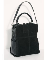 Free People - Abbie Suede Backpack By Modaluxe - Lyst