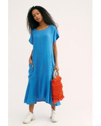 Free People - Crisp And Cool Midi Dress By Endless Summer - Lyst