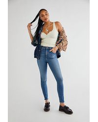 Lee Jeans High-rise Sized For You Skinny Jeans - Blue