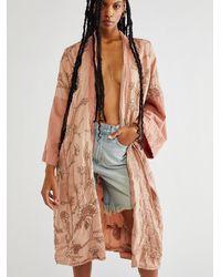 Free People Likikoi Kimono - Brown