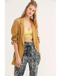 Free People Charly Blazer - Multicolour
