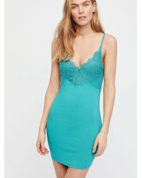 Free People - Havana Nights Bodycon Slip - Lyst