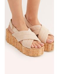 ddf31979b97 Free People - Noelle Flatform Sandal By Fp Collection - Lyst