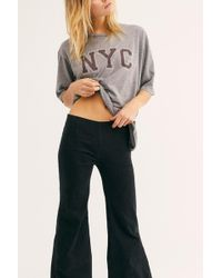 6d41b3e4817 Free People - Drapey A-line Pull-on Bell Bottom Jeans By We The