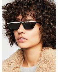 Free People - High Flyer Sunglasses - Lyst