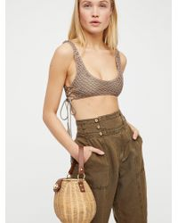 Free People Le Sable Straw Bag - Natural