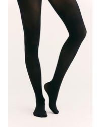 Free People Capezio Ultra Soft Body Tights - Black