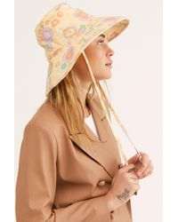 Free People Holiday Bucket Hat By Lack Of Colour - Multicolour