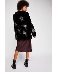 Free People - Starry Skies Fur Jacket - Lyst