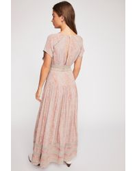 Free People - Prairie Flower Maxi Dress - Lyst