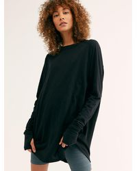Free People We The Free Arden Tee - Black