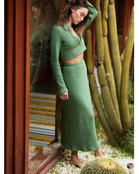 Free People Josie Set - Green