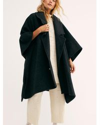 Free People - Off Duty Oversized Poncho - Lyst