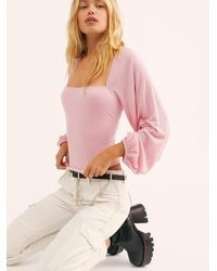 Free People Lexy Top By Fp Beach - Pink
