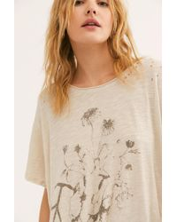 Free People Summer Love Tee By Magnolia Pearl - Natural