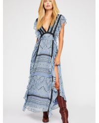 Free People - Spellbound Maxi Dress - Lyst