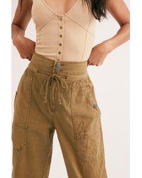 Free People Mohave Safari Trousers - Multicolour