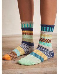 Free People Coastal Crew Socks - Multicolour