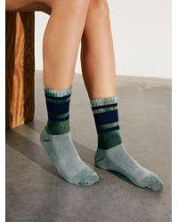 Free People Riverside Tool & Dye X Retro Stripe Tube Socks - Multicolour