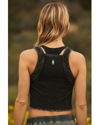Free People Go Your Own Way Active Tank By Fp Movement - Black