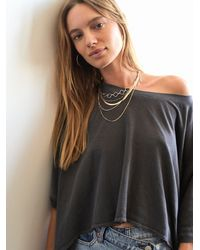 Free People Lara Layer Choker - Multicolour